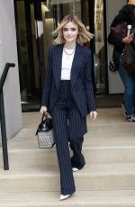 LUCY HALE Leaves Buzzfeed Studios in New York 01/09/2019
