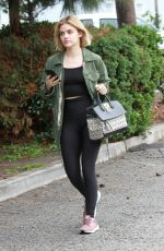 LUCY HALE Out and About in Los Angeles 01/12/2019