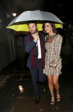 LUCY MECKLENBURGH Leaves La Boheme VIP Press Night in London 01/29/2019