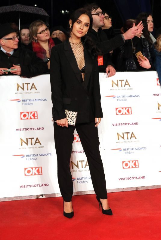 LUCY WATSON at 2019 National Television Awards in London 01/22/2019