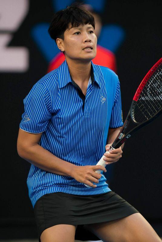 LUKSIKA KUMLHUM at 2019 Australian Open at Melbourne Park 01/14/2019