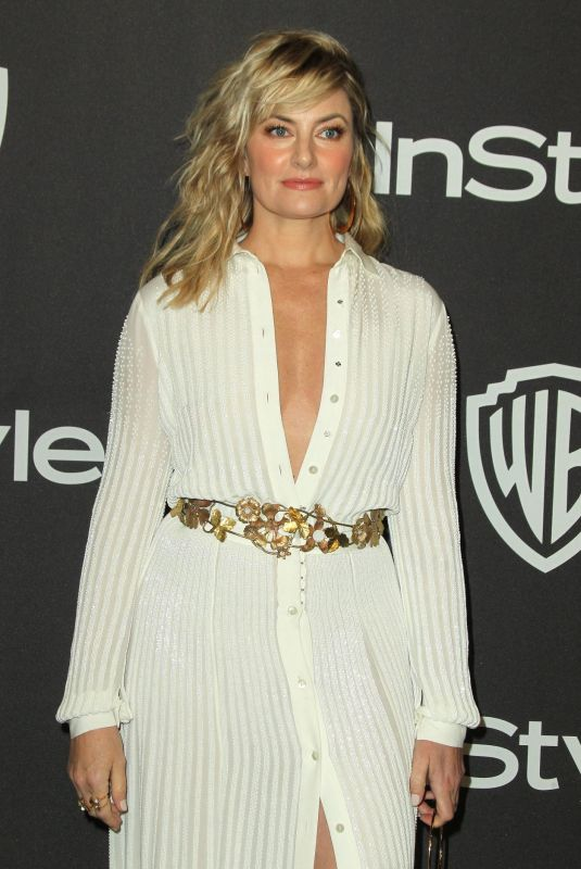 MADCHEN AMICK at Instyle and Warner Bros Golden Globe Awards Afterparty in Beverly Hills 01/06/2019