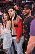 MADISON BEER at LA Lakers vs Phoenix Suns Game in Los Angeles 01/27/2019