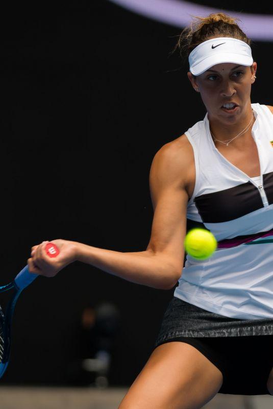 MADISON KEYS at 2019 Australian Open at Melbourne Park 01/17/2019