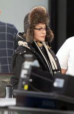 MADONNA at JFK Airport in New York 01/13/2019