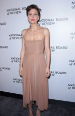 MAGGIE GYLLENHAAL at National Board of Review Awards Gala in New York 01/08/2019