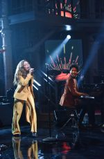 MAGGIE ROGERS Performs at Late Show with Stephen Colbert 01/22/2019
