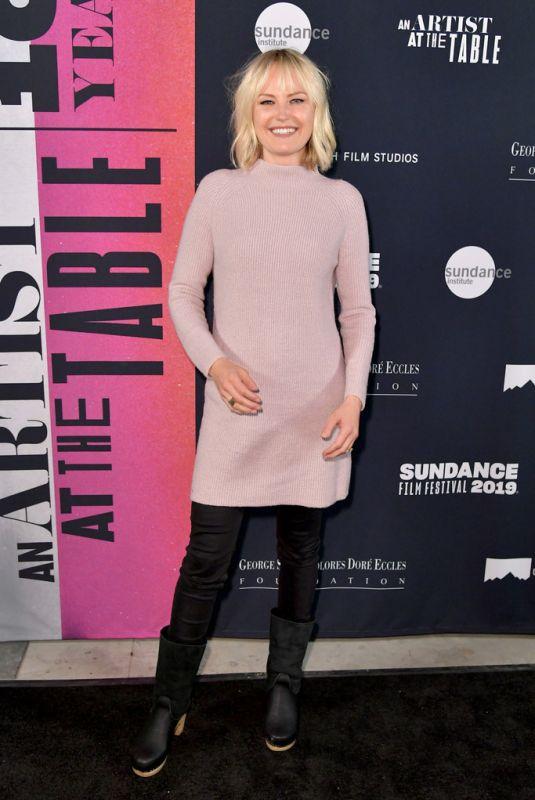 MALIN AKERMAN at An Artist at the Table: Dinner and Program at Sundance Film Festival 01/24/2019