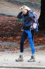 MALIN AKERMAN Out Hiking at Griffith Park in Los Angeles 01/15/2019