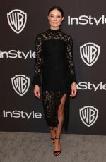 MALLORY JANSEN at Instyle and Warner Bros Golden Globe Awards Afterparty in Beverly Hills 01/06/2019