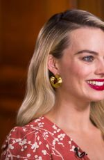 MARGOT ROBBIE at Sunday Today with Willie Geist 01/06/2019
