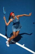 MARIA SHARAPOVA vs ASHLEIGH BARTY at 2019 Australian Open at Melbourne Park 01/14/2019