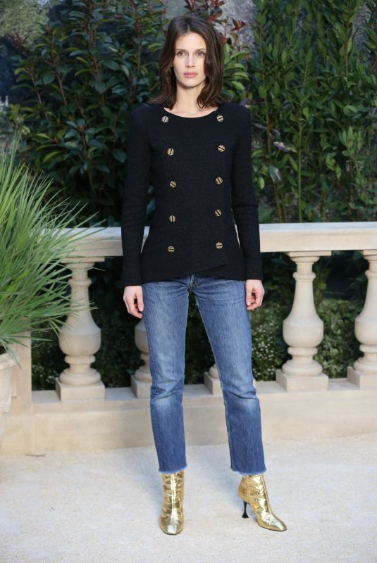 MARINE VACTH at Chanel Fashion Show in Paris 01/22/2019