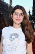 MARISA TOMEI at Women's March in Los Angeles 01/19/2019