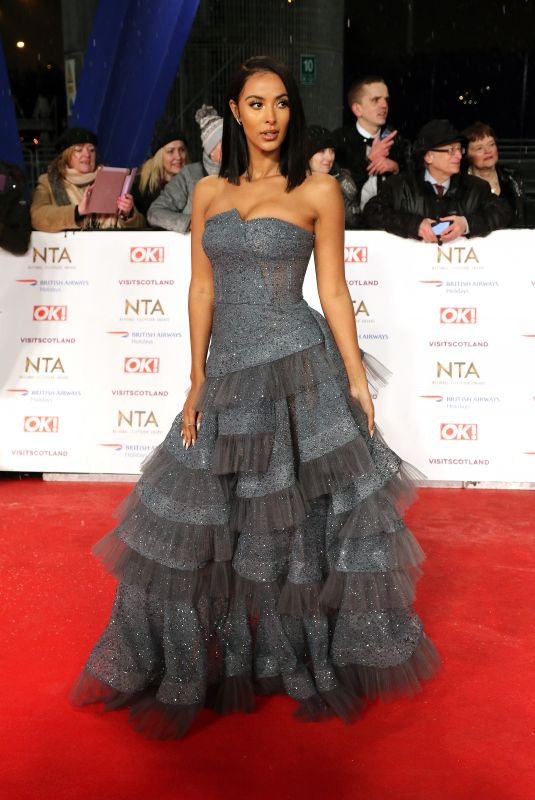 MAYA JAMA at 2019 National Television Awards in London 01/22/2019