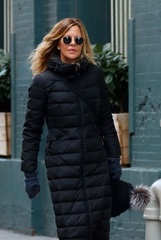MEG RYAN Out and About in New York 01/25/2019