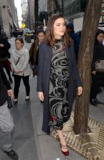 MEGAN BOONE Arrives at Today Show in New York 01/09/2019