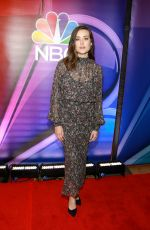 MEGAN BOONE at NBC New York Mid Season Press Junket in New York 01/24/2019