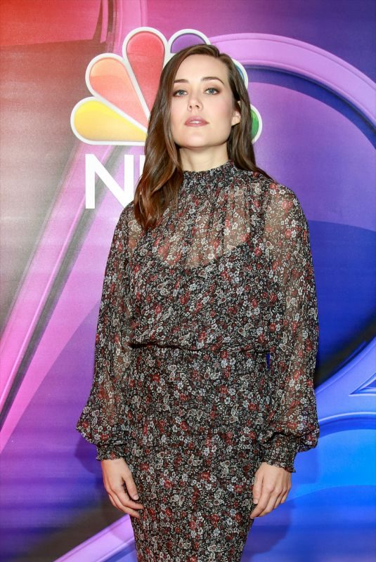 MEGAN BOONE at NBC New York Mid Season Press Junket in New York 01/24/2019