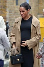 MEGHAN MARKLE at Smart Works in London 01/10/2019