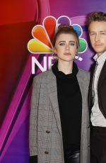 MELISSA ROXBURGH at NBC New York Mid Season Press Junket in New York 01/24/2019