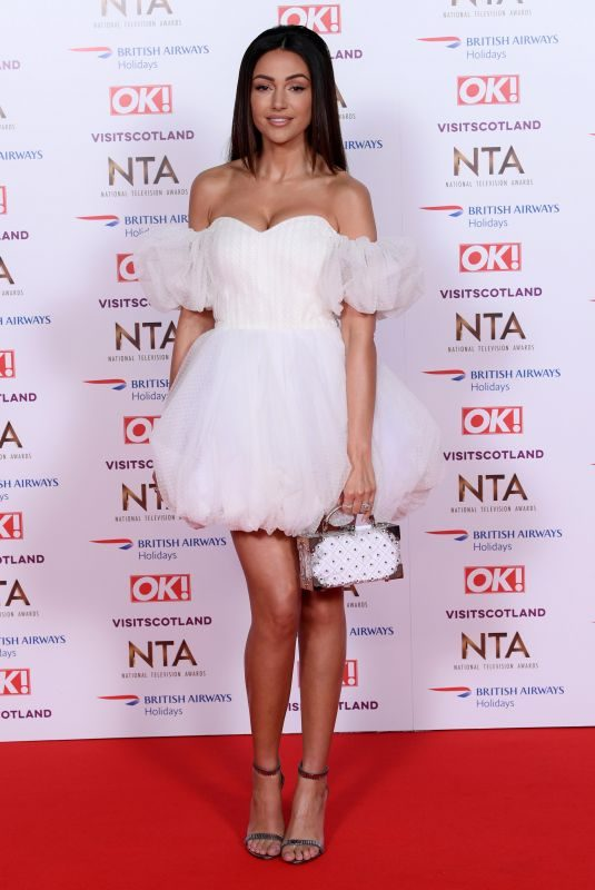 MICHELLE KEEGAN at 2019 National Television Awards in London 01/22/2019