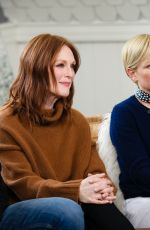 MICHELLE WILLIAMS and JULIANNE MOORE at Variety Sundance Studio in Park City 01/25/2019