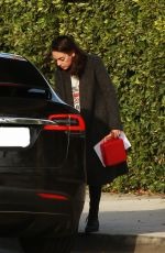 MILA KUNIS Leaves Her House in Los Angeles 01/10/2019