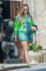 MILEY CYRUS Out and About in Miami Beach 01/09/2019