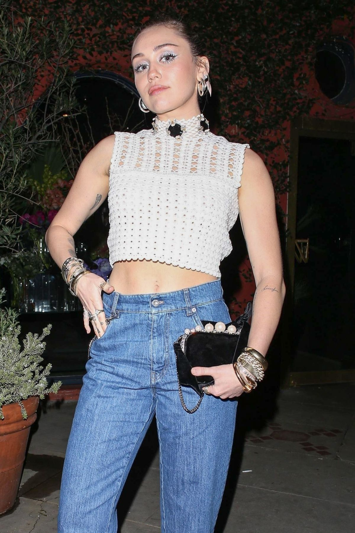 MILEY CYRUS Out in Silverlake 01/25/2019 - HawtCelebs