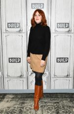 MILLY RINGWLD at Build Series in New York 01/16/2019