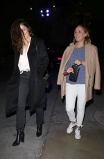 MINKA KELLY Arrives at Elton John Concert at Staples Center 01/30/20109
