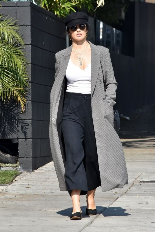 MINKA KELLY at Nine Zero One Salon in Beverly Hills 01/29/2019