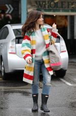 MINKA KELLY Out Shopping in West Hollywood 01/14/2019