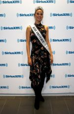 Miss Universe 2018 CATRIONA GRAY at SisriusXM Studio in January 01/10/2019