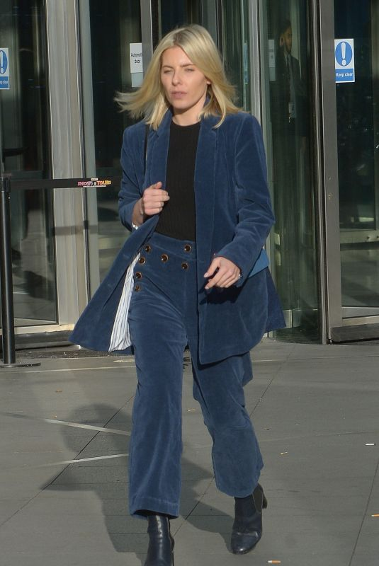 MOLLIE KING Leaves BBC Studios in London 01/20/2019