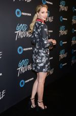 MOLLY MCCOOK at Good Trouble Premiere in Los Angeles 01/08/2019