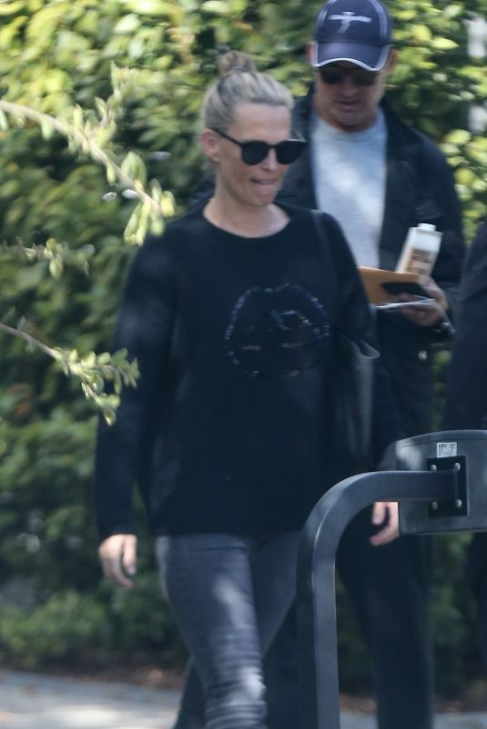 MOLLY SIMS and Scott Stuber Out in Los Angeles 01/06/2019