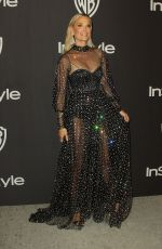 MOLLY SIMS at Instyle and Warner Bros Golden Globe Awards Afterparty in Beverly Hills 01/06/2019
