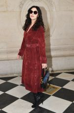 MONICA BELLUCCI at Christian Dior Show at Paris Fashion Week 01/21/2019