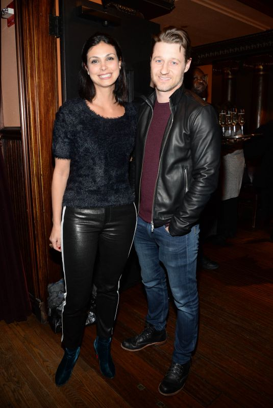 MORENA BACCARIN and Ben at Mary Poppins Private Reception in New York 01/10/2019