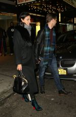MORENA BACCARIN Night Out in New York 01/10/2019