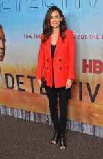 MOZHAN MARNO at True Detective Season 3 Premiere in Los Angeles 01/10/2019