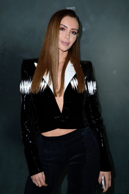 NABILLA BENATTIA at Jean-paul Gaultier Fashion Show in Paris 01/23/2019