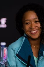 NAOMI OSAKA at 2019 Australian Open Press Conference in Melbourne 01/15/2019