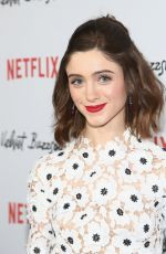 NATALIA DYER at Velvet Buzzsaw Premiere in Los Angeles 01/28/2018