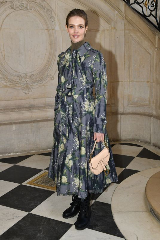 NATALIA VODIANOVA at Christian Dior Show at Paris Fashion Week 01/21/2019