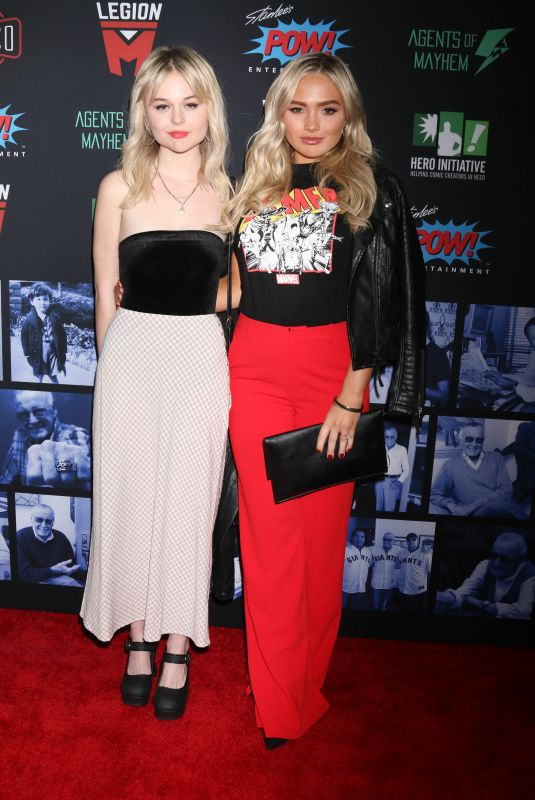 NATALIE ALYN LIND at Stan Lee Tribute in Hollywood 01/30/2019