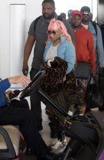 NICKI MINAJ at Adelaide Airport 01/07/2019