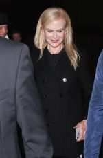 NICOLE KIDMAN Night Out in Los Angeles 01/25/2019